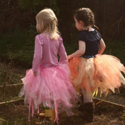 How to Make an Easy No Sew Tutu for Kids