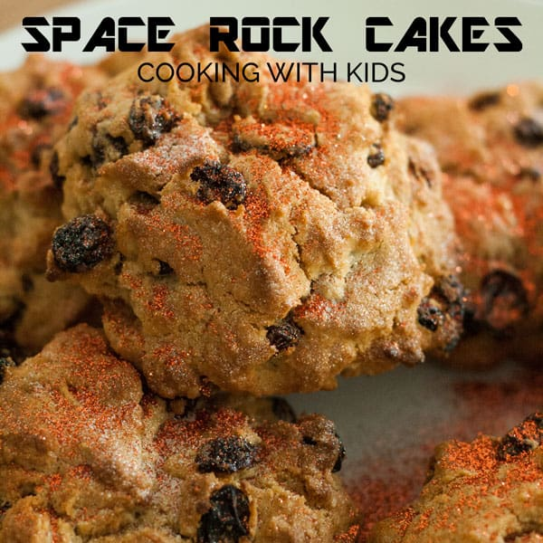 Space Rock Cakes Recipe to Cook with Kids