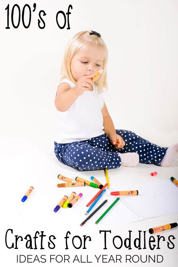 100's of crafts for toddlers that you can do all year round. Including special sections for celebrations, festivals and holidays