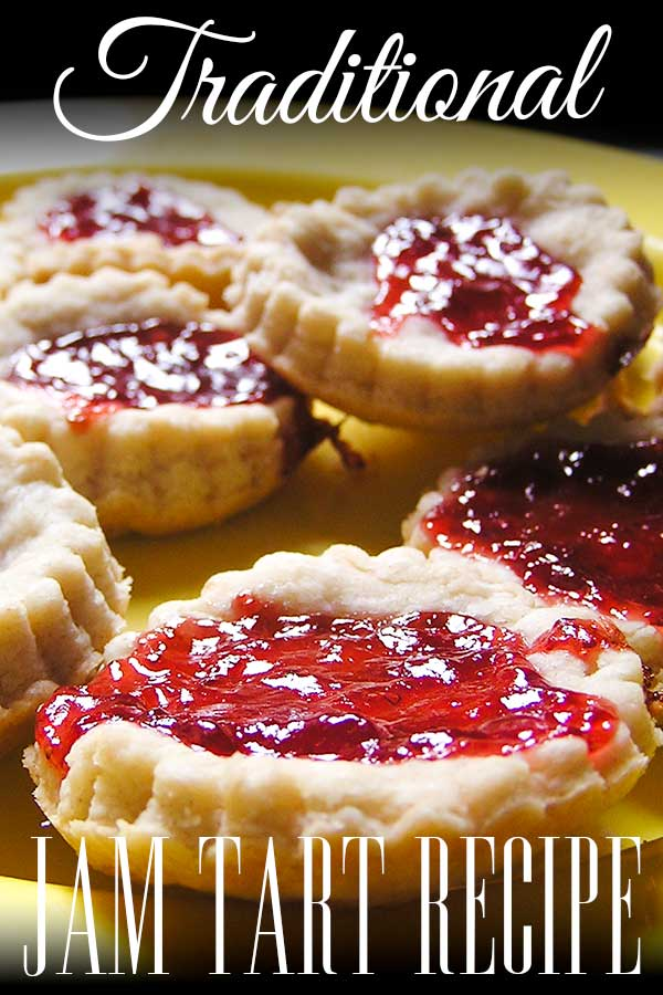 Step-by-step recipe for making some delicious Jam Tarts to go with the classic nursery rhyme Queen of Hearts. Perfect for cooking with kids as young as toddlers.