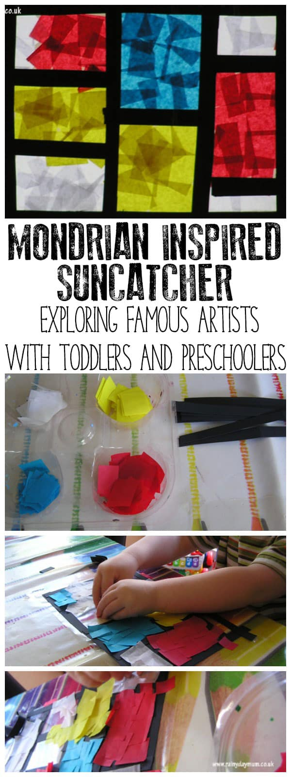 Explore the artist Mondrian with toddlers and preschoolers, recommended books aimed at this age group, plus a creative project inspired by his latest work