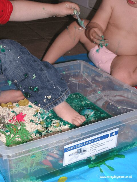 small world play for an oceans unit