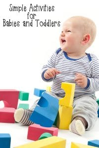 35 activities for 18 month old and younger
