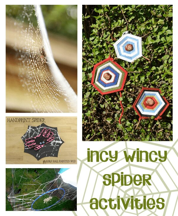 Incy Wincy Spider Activities for Toddlers and Preschoolers