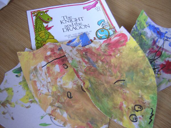 the knight and the dragon activities