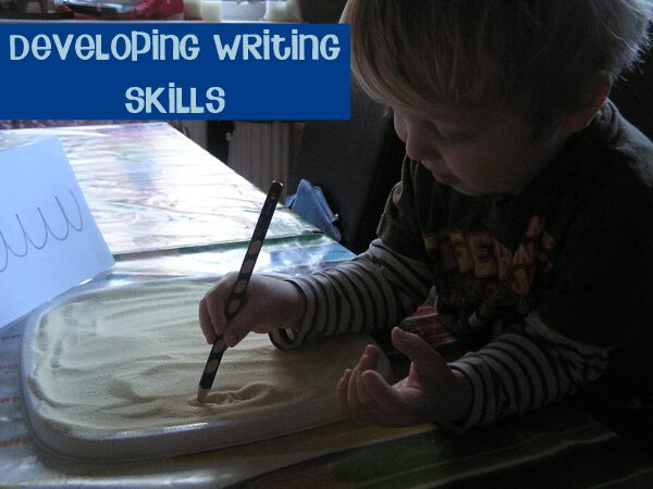 developing preschool writing skills