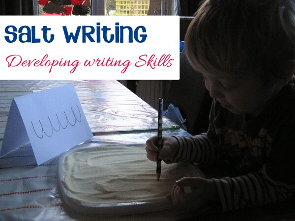 Preschool writing development activity