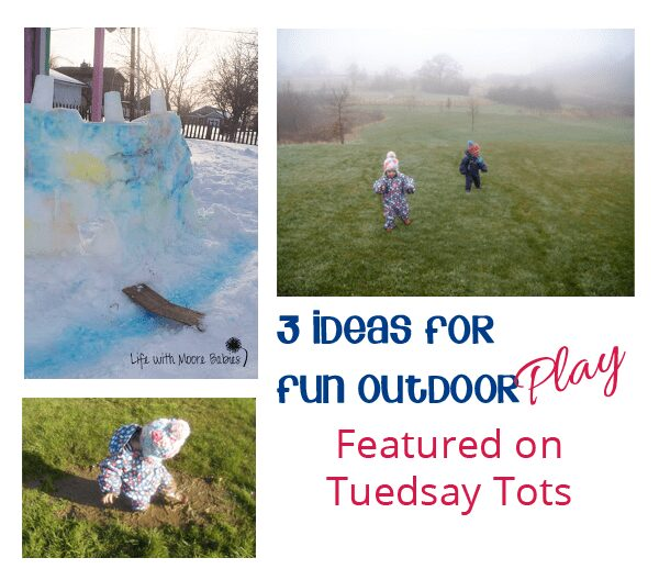 Outdoor Play for toddlers