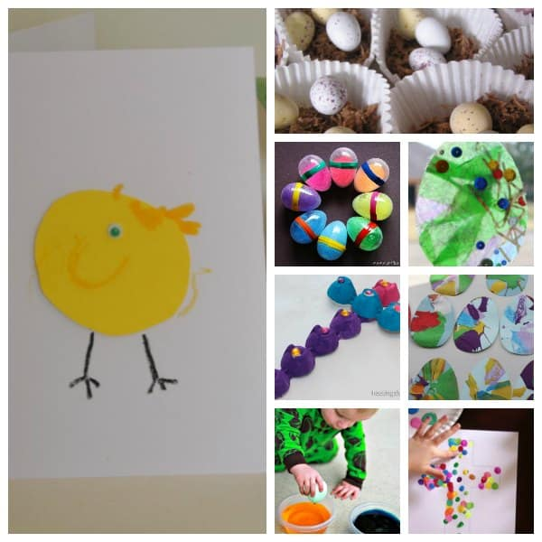 Suggestions for creative, playful and fun Easter Activities for Toddlers that you and your children can do together to celebrate and learn about Easter.