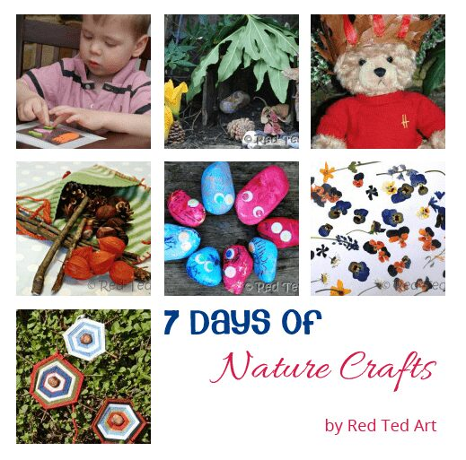 7 days of Nature Crafts