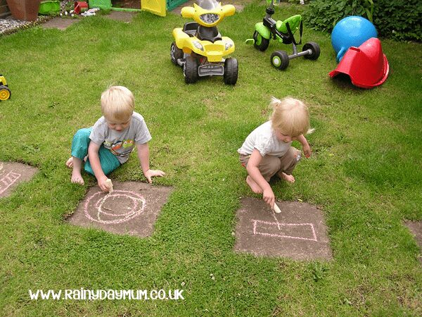 Setting up for summer learning with chalks - give your children the resources and inspiration this summer with one of our favourite materials Chalks and watch the learning happen