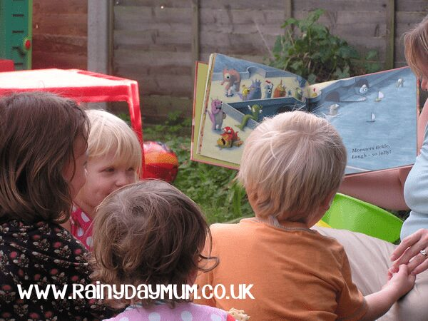 Picture Book Party - Romping Monsters Stomping Monsters with some fun ideas for Monster Fun