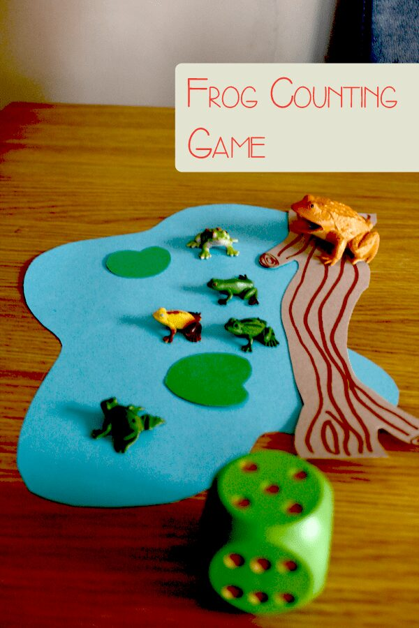 Simple and Fun Frog Counting Game for Preschoolers