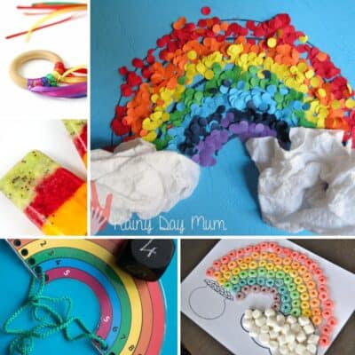 Rainbow Crafts and Activities for Toddlers and Preschoolers