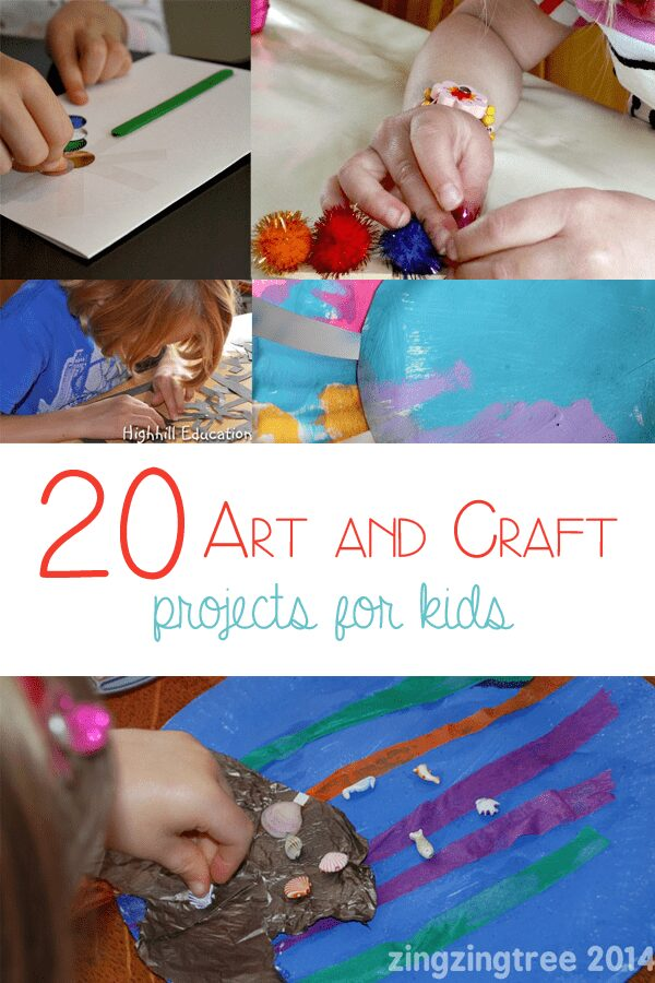 20 Art and Craft Projects for Kids