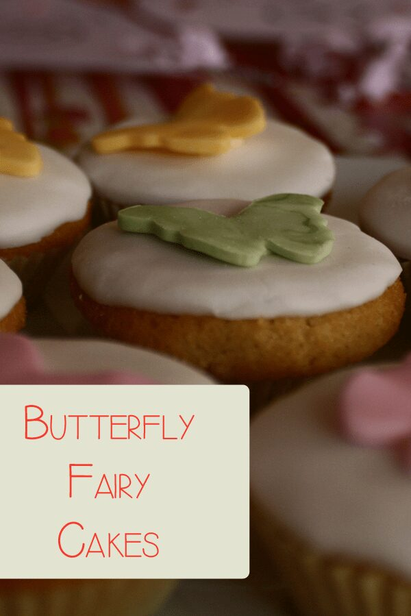Simply Decorated Butterfly Cake Recipe for Kids to Enjoy!
