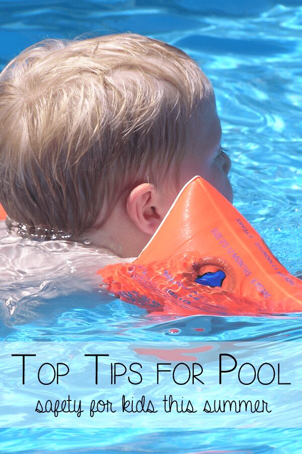 Top Tips for keeping kids safe at the pool this summer