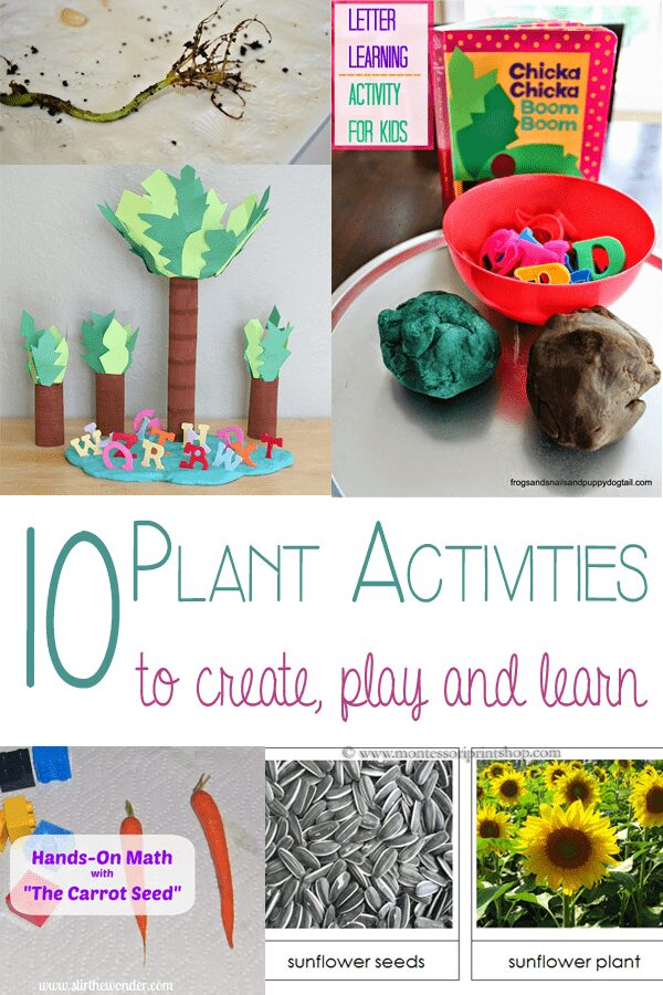 10 Plant Activities – to create, play, and learn with