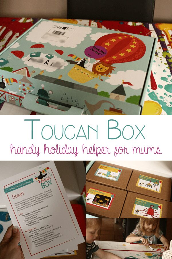 Toucan Box – Holiday Helper for busy Mums