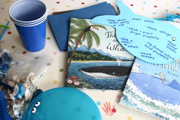 Love Book Summer Book Exchange organised by The Educators' Spin On It - Whale Books for Kids