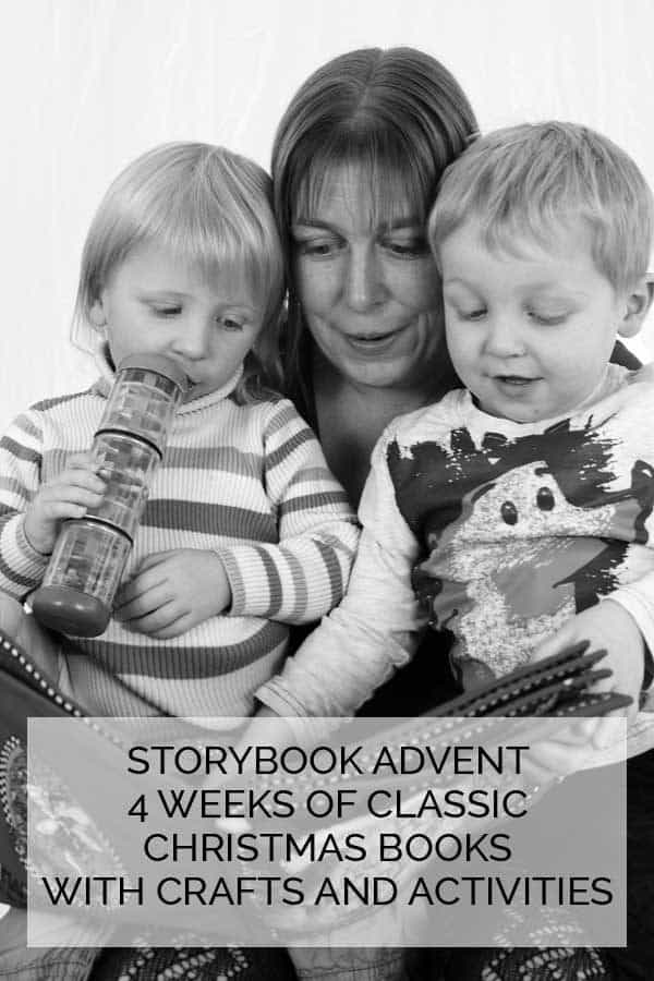 Storybook Advent - a 4 week series based on 4 classic children's Christmas storybooks with crafts, activities and more. Click through to discover dates and how you can keep up to date