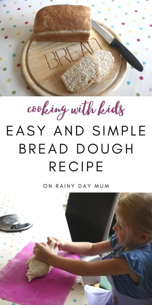 cooking with kids easy and simple bread dough recipe