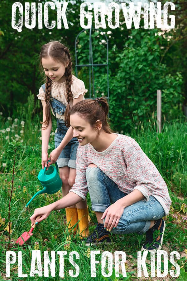 picture of mother and daughter gardening