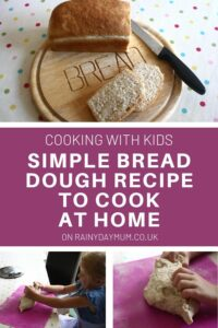 simple bread dough recipe to cook at home