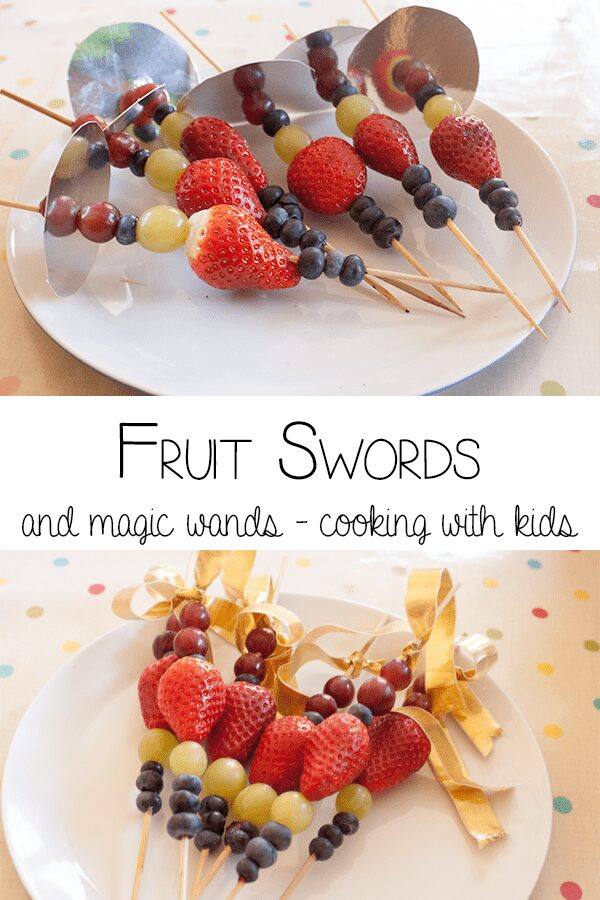 Fruit Swords and Magic Wands – Quick Snacks for kids