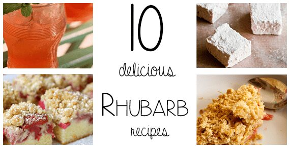 10 delicious rhubarb recipes for seasonal bakes, drinks and BBQ