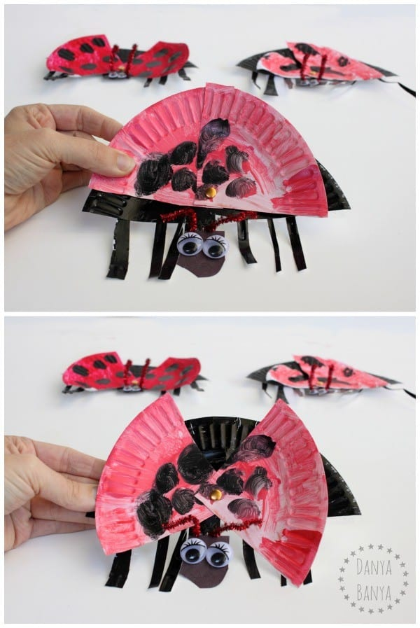 Read and make craft for The Bad-Tempered Ladybird by Eric Carle
