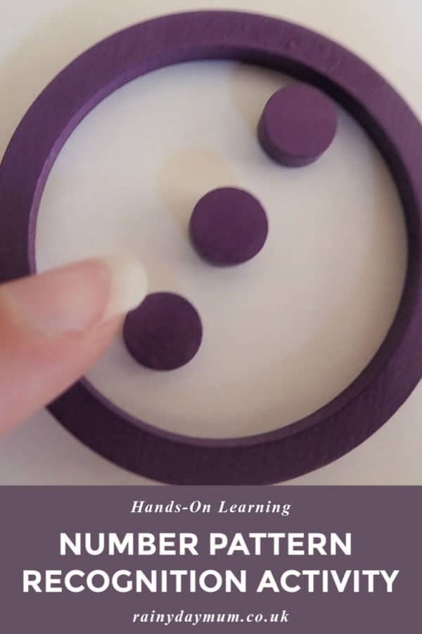 learning regular arrangements of numbers with this simple hands-on activity