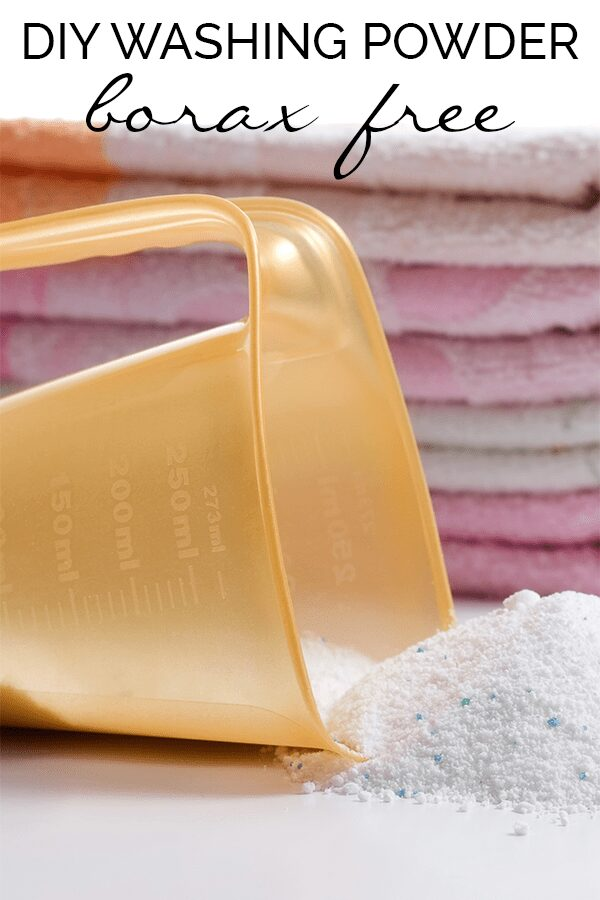 Washing powder recipe which will save you money, reduce the chemicals in the home and still keep your clothes looking clean and smelling fresh.