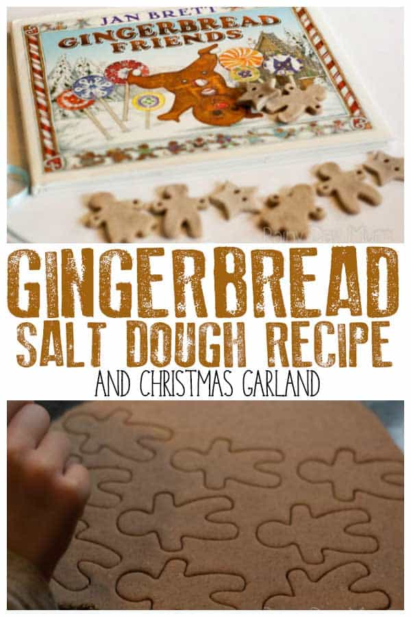 Gingerbread Friends inspired activity for kids