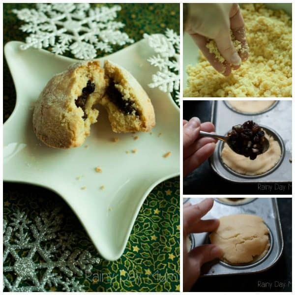 Easy Mince Pie Recipe ideal for cooking with children this Christmas. No roll buttery pastry that is fail safe and makes delicious mince pies every time.