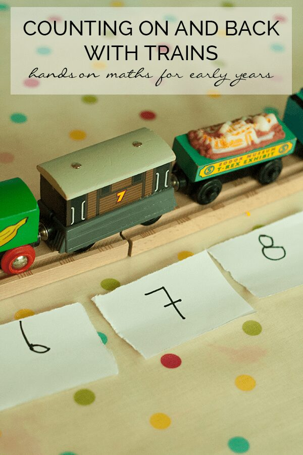 Counting On and Back with Trains