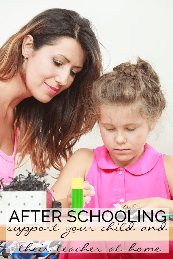 After schooling - supporting your child and their teacher at home, some suggestions of where you can find ideas and resources for helping them learn with you outside of the classroom