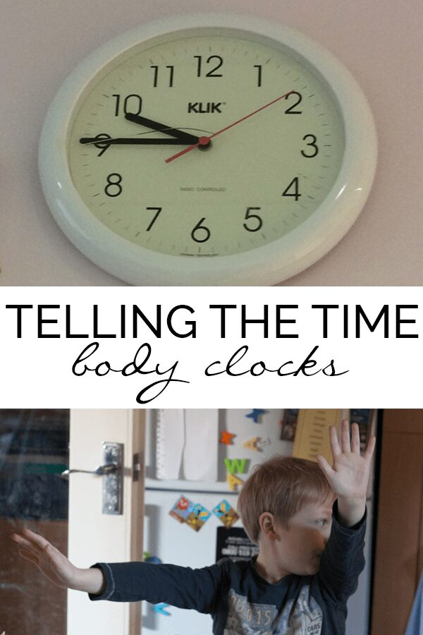 Body Clock – Hands-on Time Practice