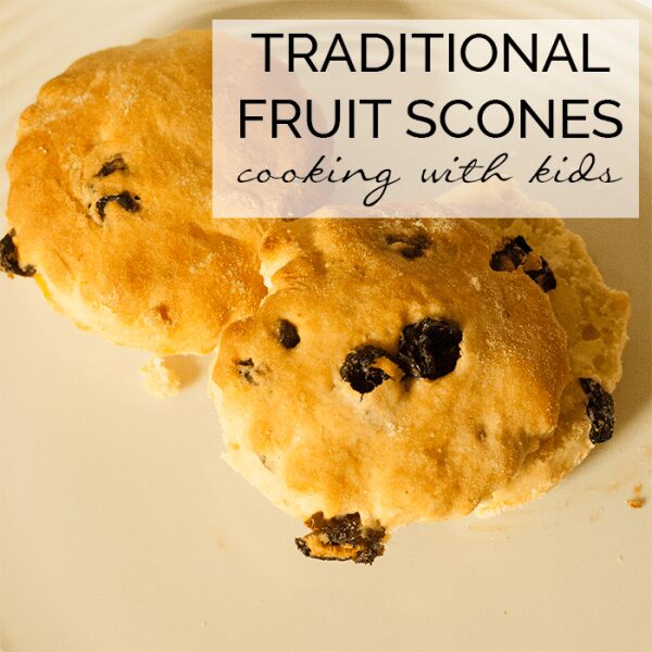Easy Traditional English Fruit Scones Recipe to Make with Kids