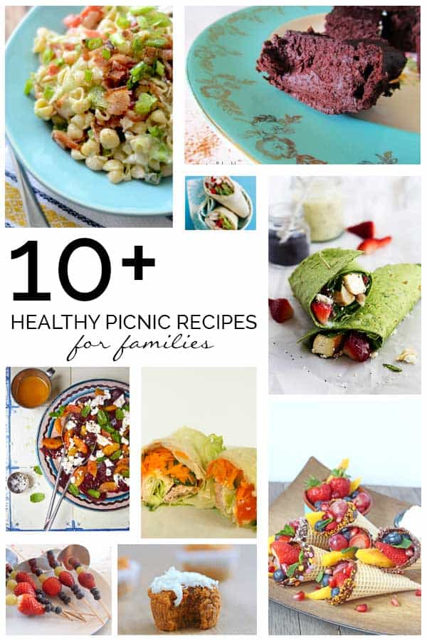 10+ Healthy Picnic Recipes for Families