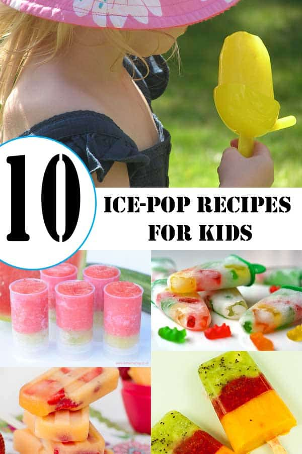 Ice-Pop recipes for Kids