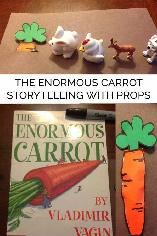 The Enormous Carrot Storytelling with Props