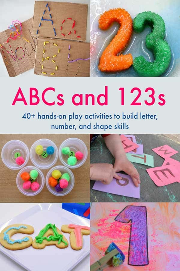 ABC's and 123's