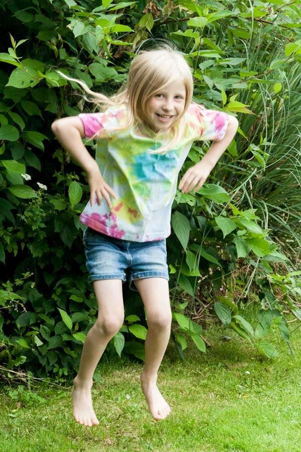 Tie Dye T-shirts to make with kids