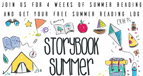 Join Storybook Summer for 4 weeks of reading, connecting, creating and enjoying books