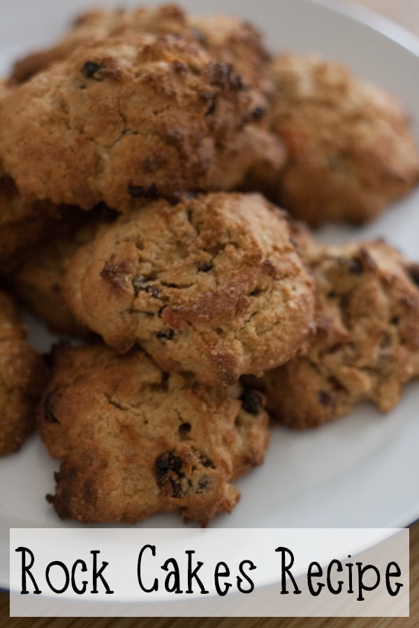 Easy simple rock cakes recipe to make with children. A perfect first cooking recipe that is forgiving for little hands to make and tastes delicious.
