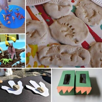 The BIG LIST of Dinosaur Crafts and Activities for Toddlers and Preschoolers