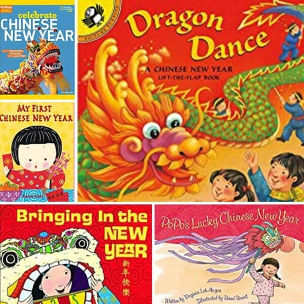 Chinese New Year Books Recommendations for Toddlers and Preschoolers to learn about the celebration and some of the traditions