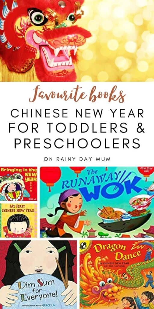 Favourite books for toddlers and preschoolers to read about the chinese new year together