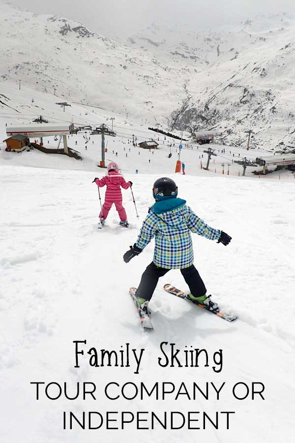 Family Skiing – package or independent